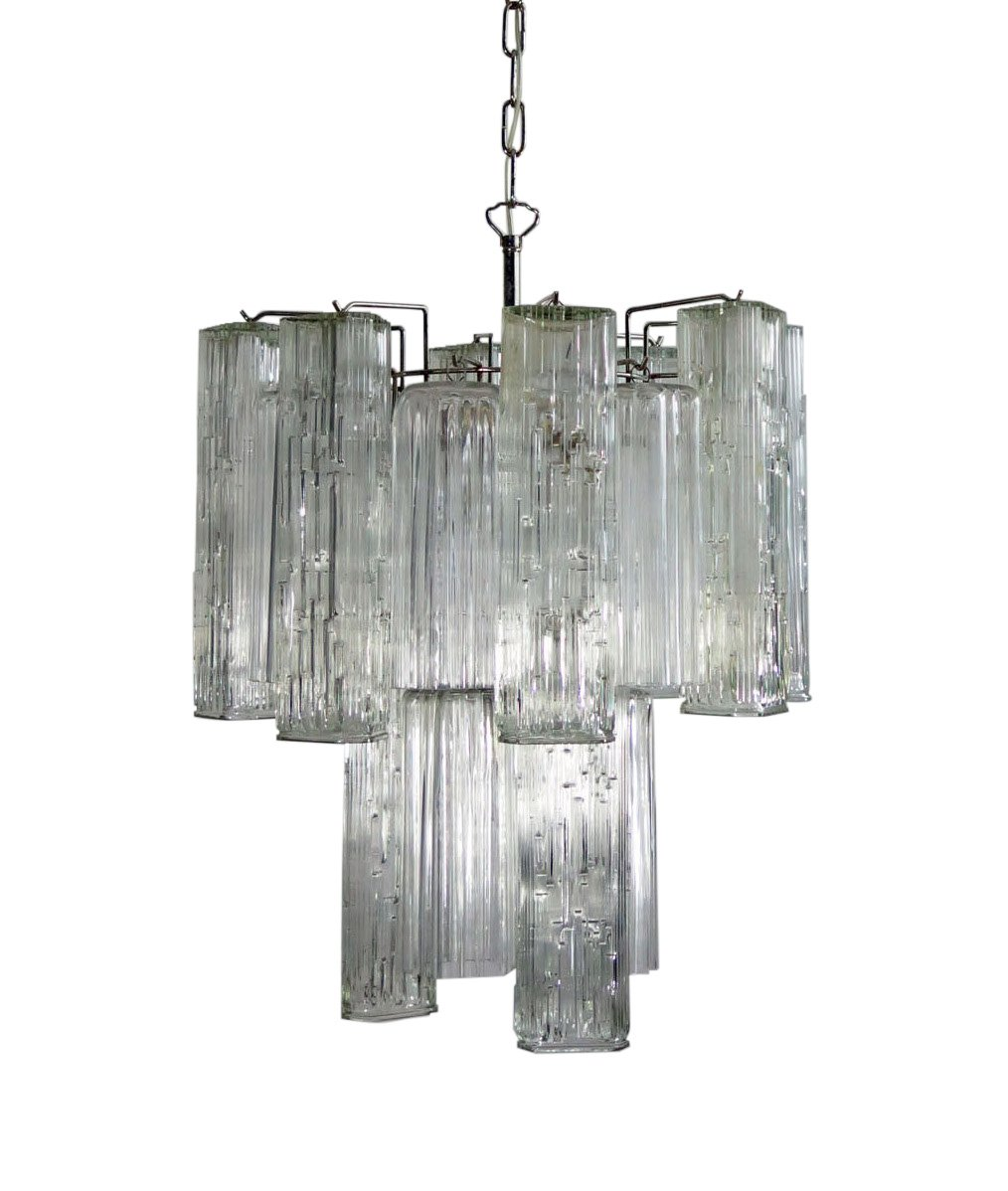 Vintage Murano Glass Chandelier From