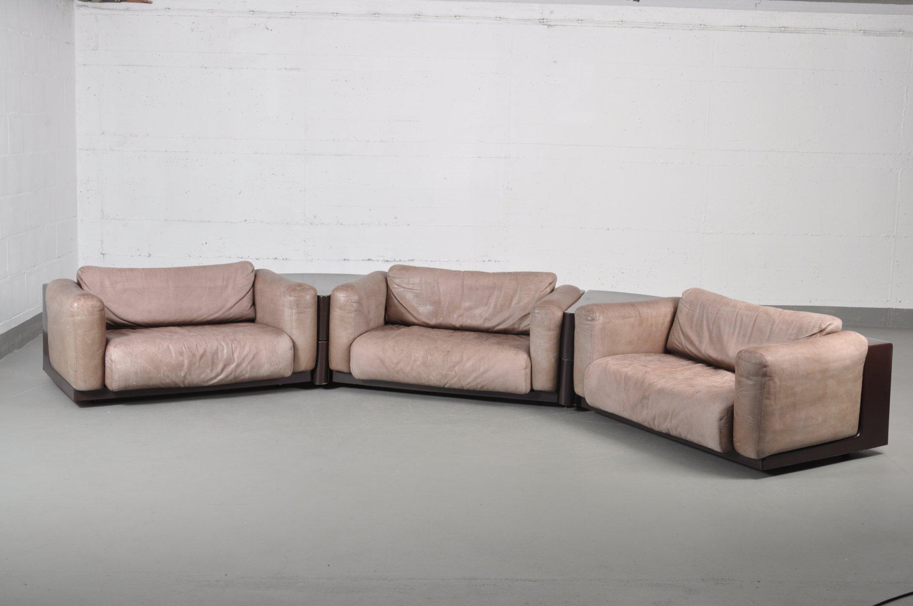 vintage modular sofa set bycini boeri for knoll bei pamono kaufen. Black Bedroom Furniture Sets. Home Design Ideas