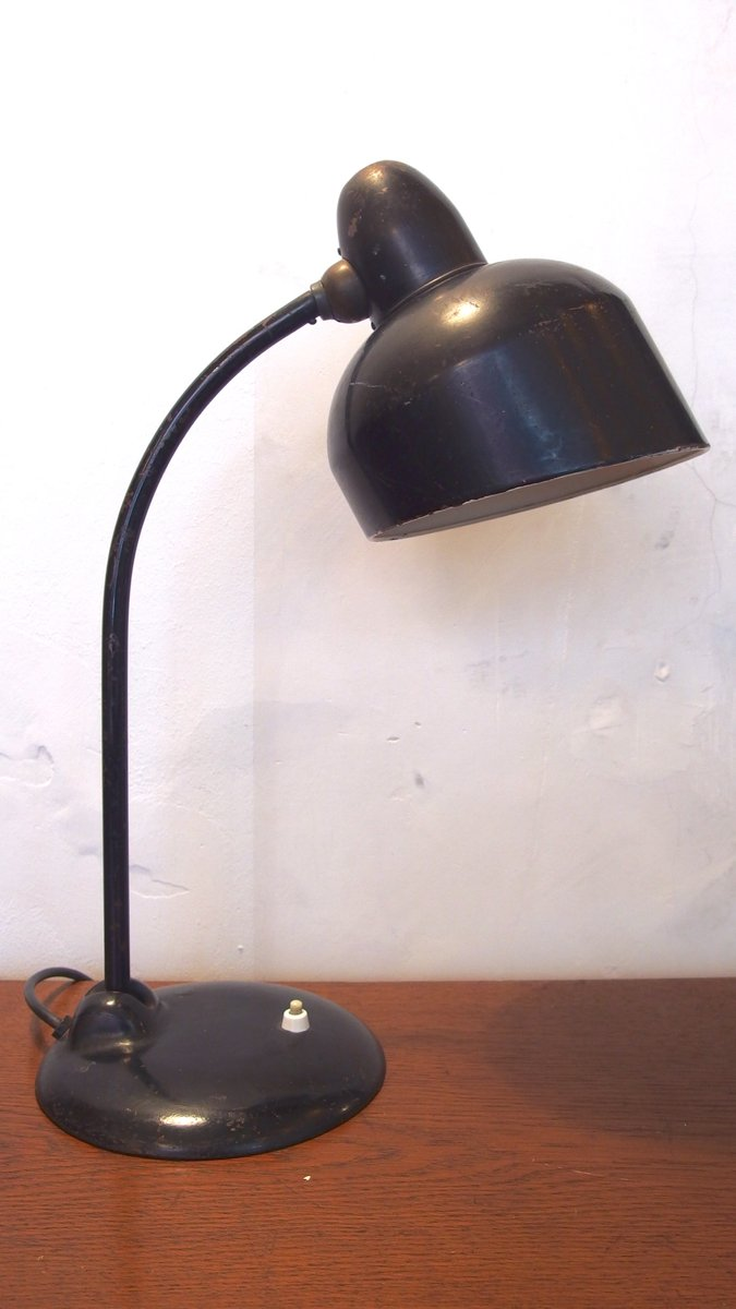 Black Industrial Table Lamp From Escolux