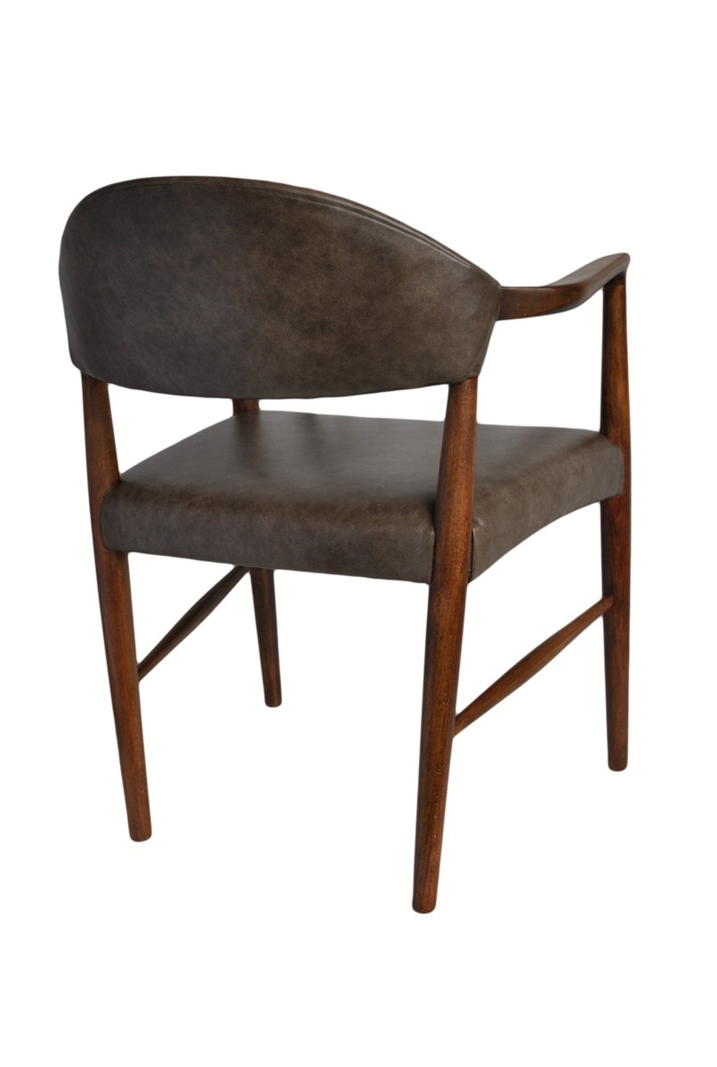 buchenholz armlehnstuhl von kurt olsen f r slagelse. Black Bedroom Furniture Sets. Home Design Ideas