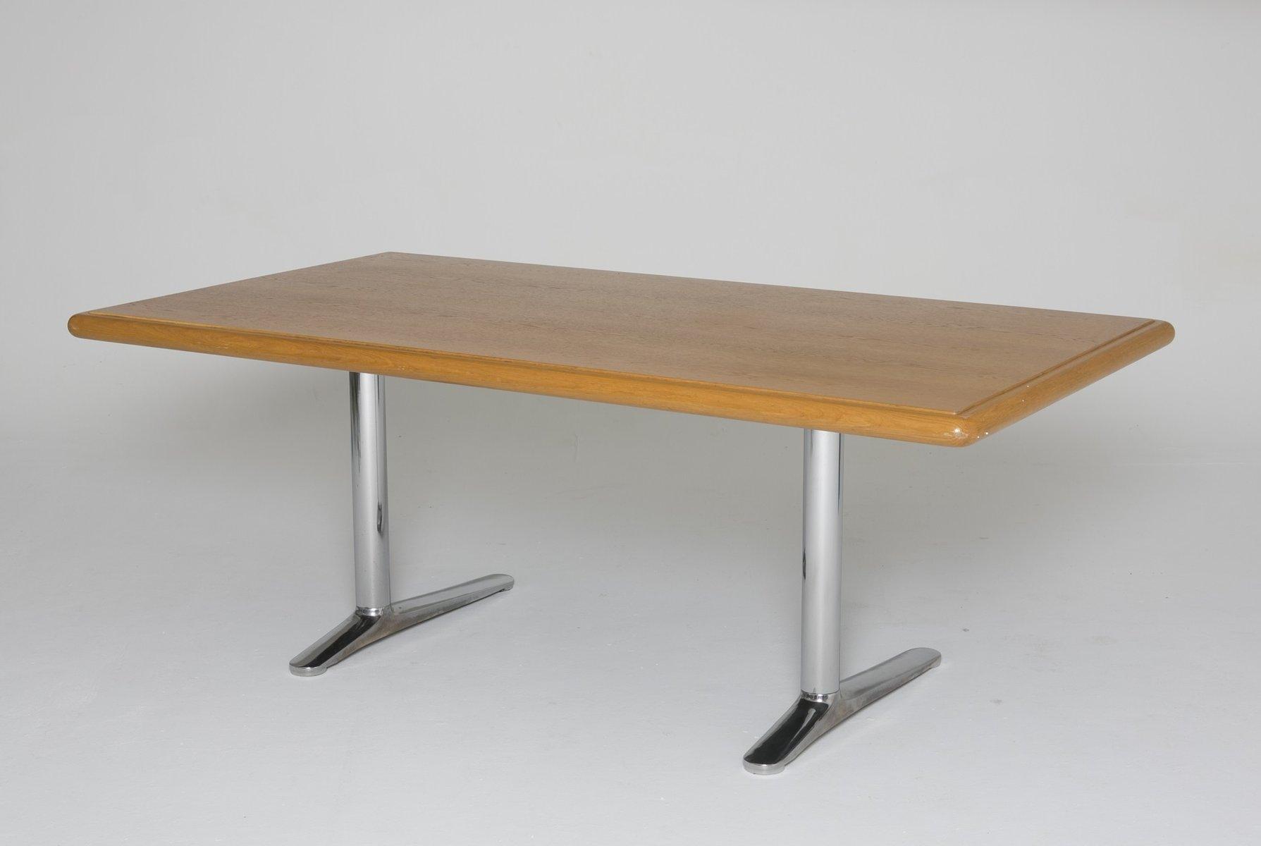 bureau vintage par warren platner pour knoll en vente sur pamono. Black Bedroom Furniture Sets. Home Design Ideas