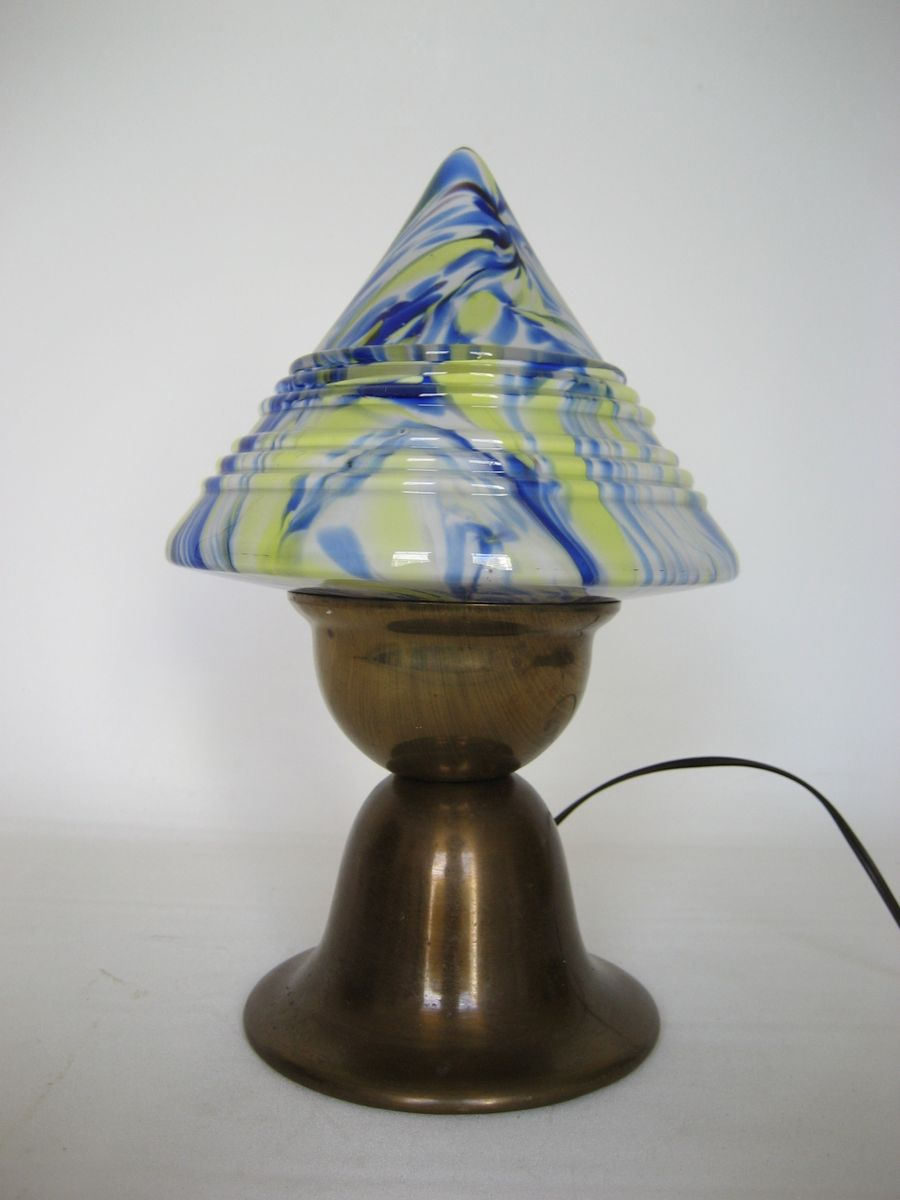 Art Deco Mushroom Desk Lamp 1930s For Sale At Pamono