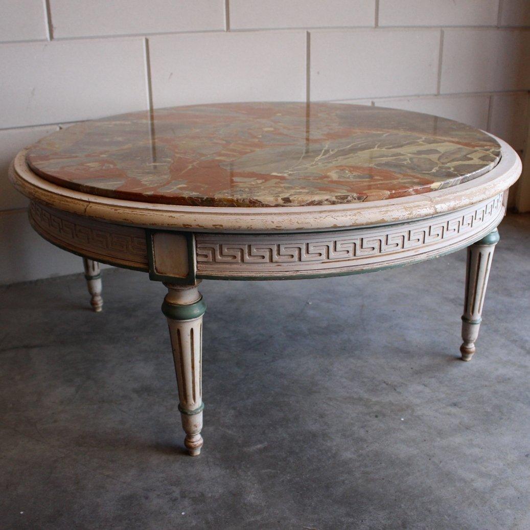 marmor couchtisch von j f pogge zoon 1970er bei pamono. Black Bedroom Furniture Sets. Home Design Ideas