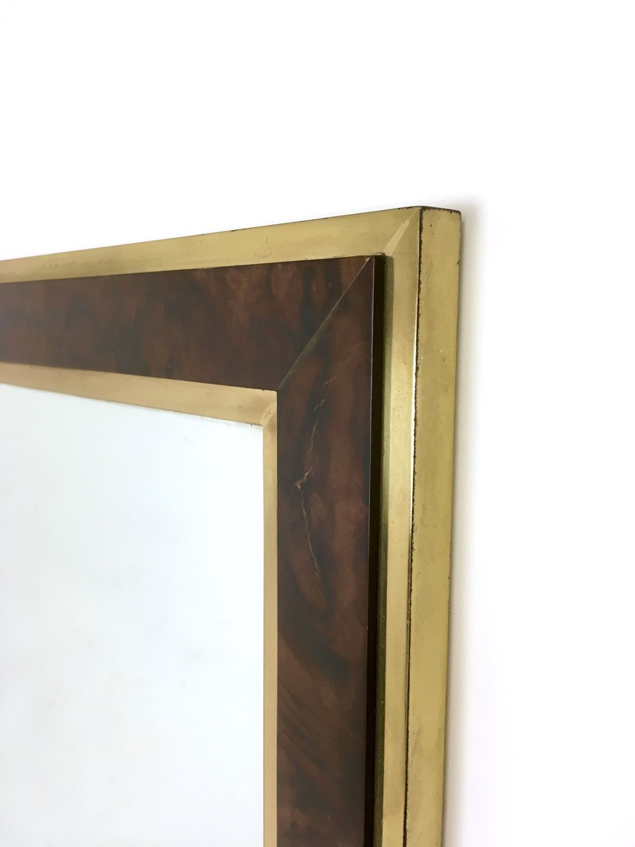 wood wall mirrors. Wood Wall Mirrors. Italian Brass And Briar-root Mirror, 1970s Mirrors