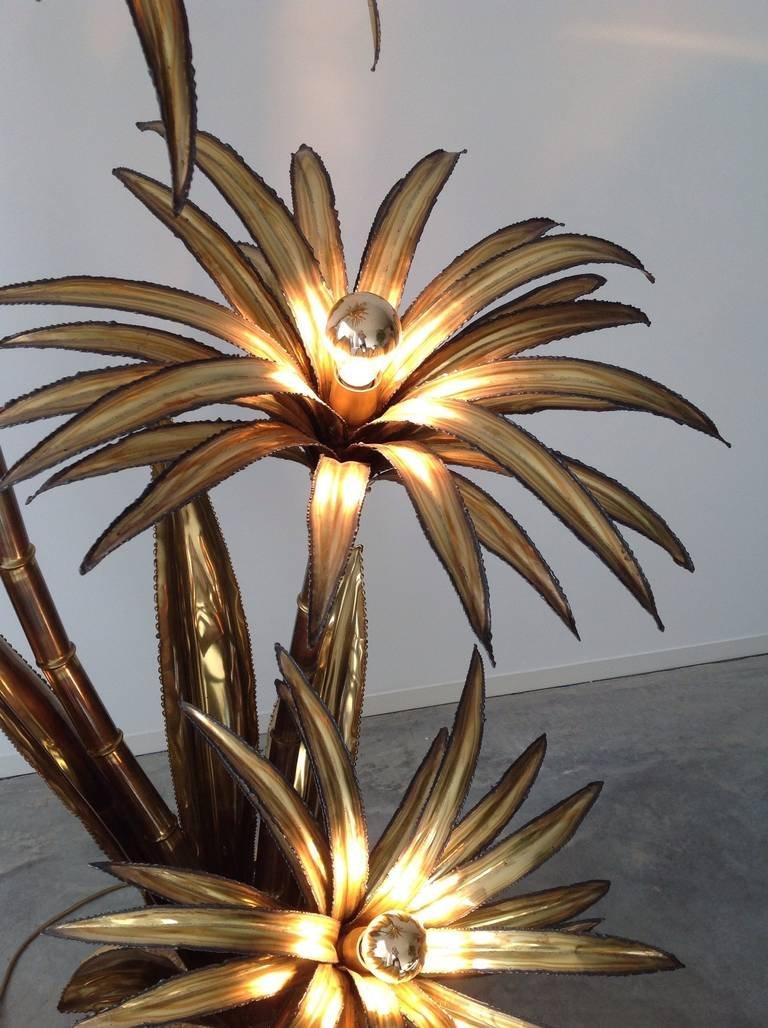 Palm tree lamp from maison jansen 1972 for sale at pamono price per piece aloadofball Choice Image