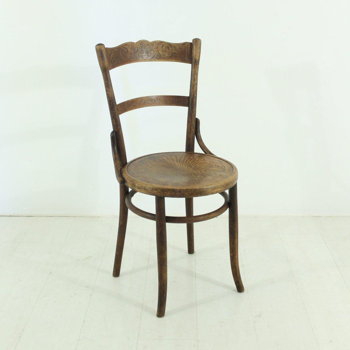 Jugendstil stuhl von fischel 1920er bei pamono kaufen for Stuhl designgeschichte