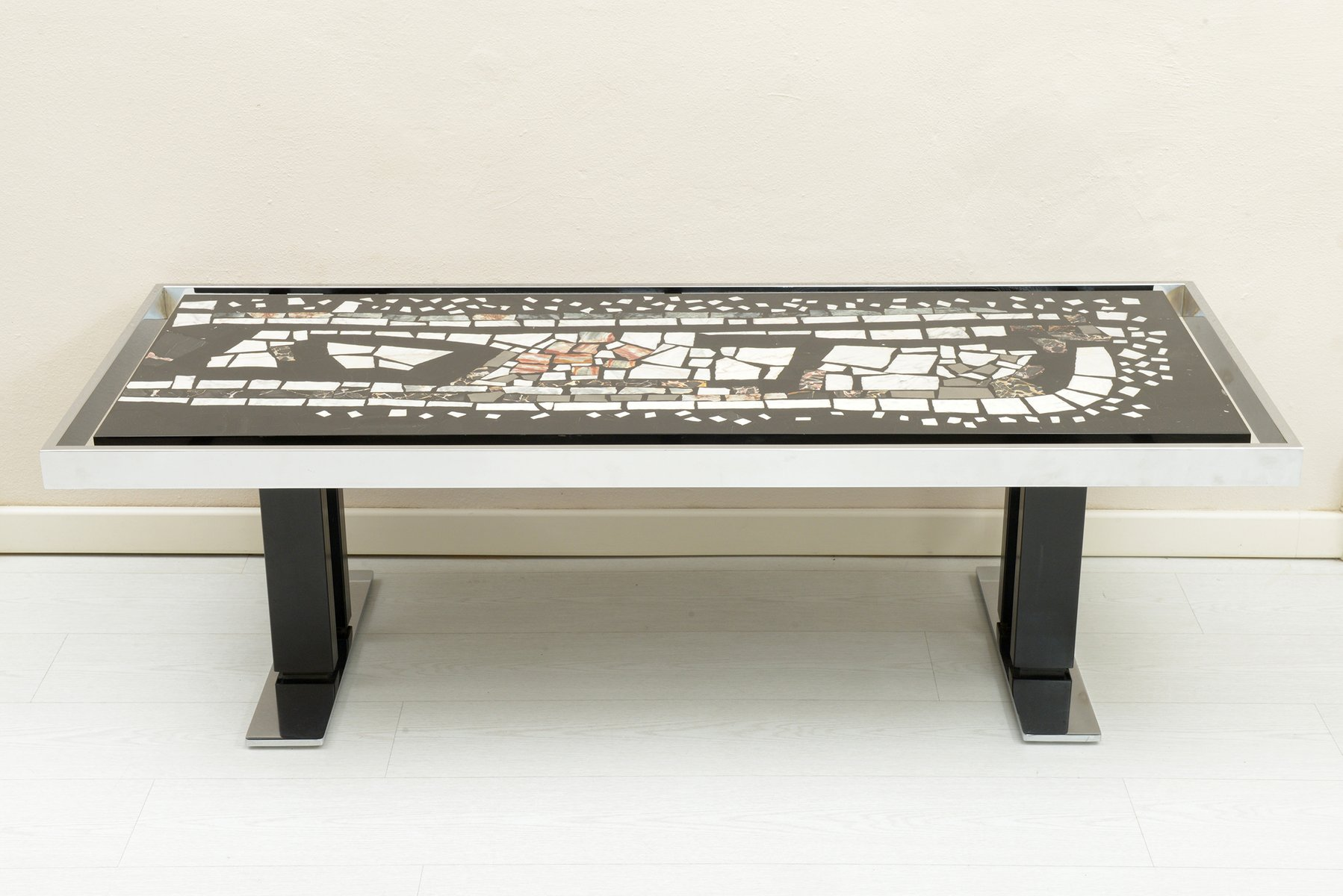 mosaique table basse free mosaique table basse with mosaique table basse table bois fossile. Black Bedroom Furniture Sets. Home Design Ideas
