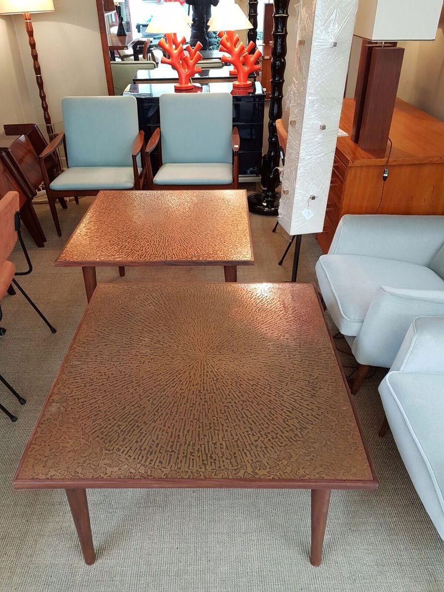 italienische mid century couchtische 1960er 2er set bei pamono kaufen. Black Bedroom Furniture Sets. Home Design Ideas