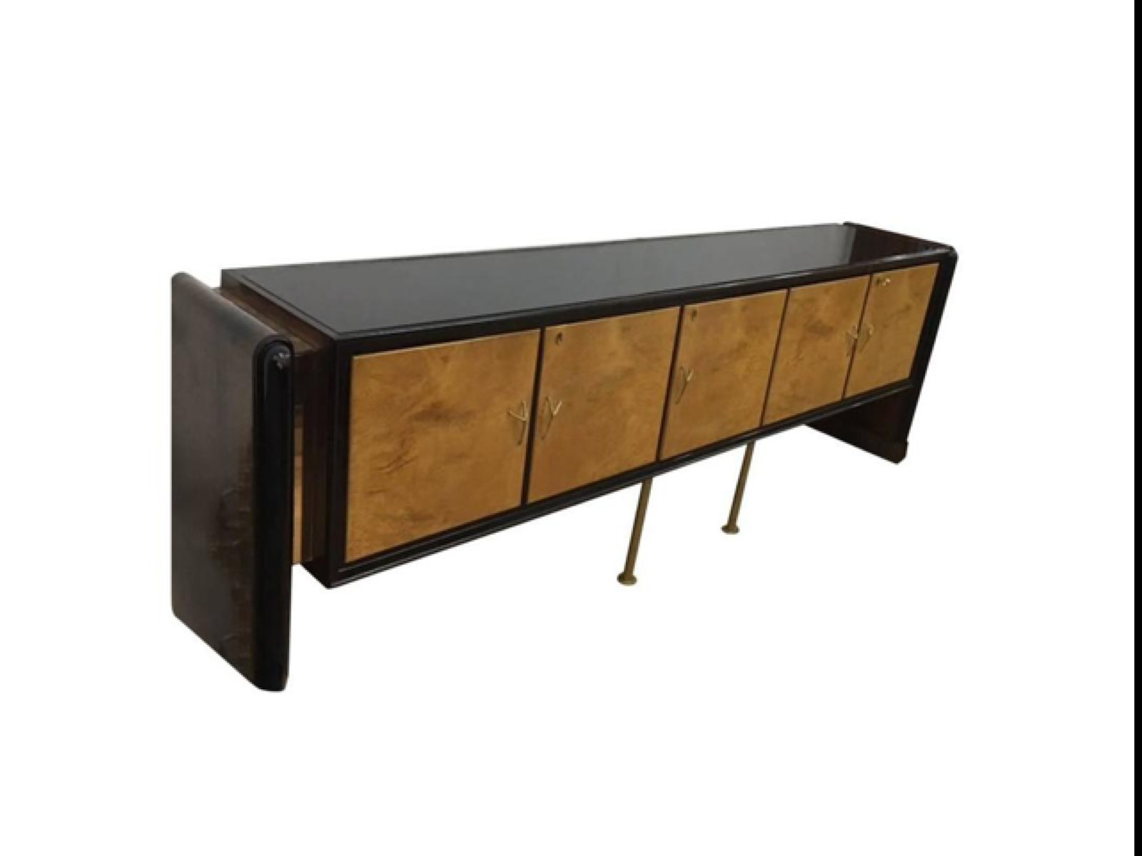italienisches art deco sideboard 1920er bei pamono kaufen. Black Bedroom Furniture Sets. Home Design Ideas