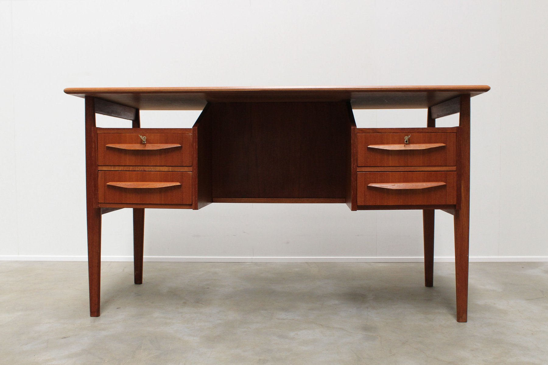 design edmonton img products desk mobler domino teak danish consign
