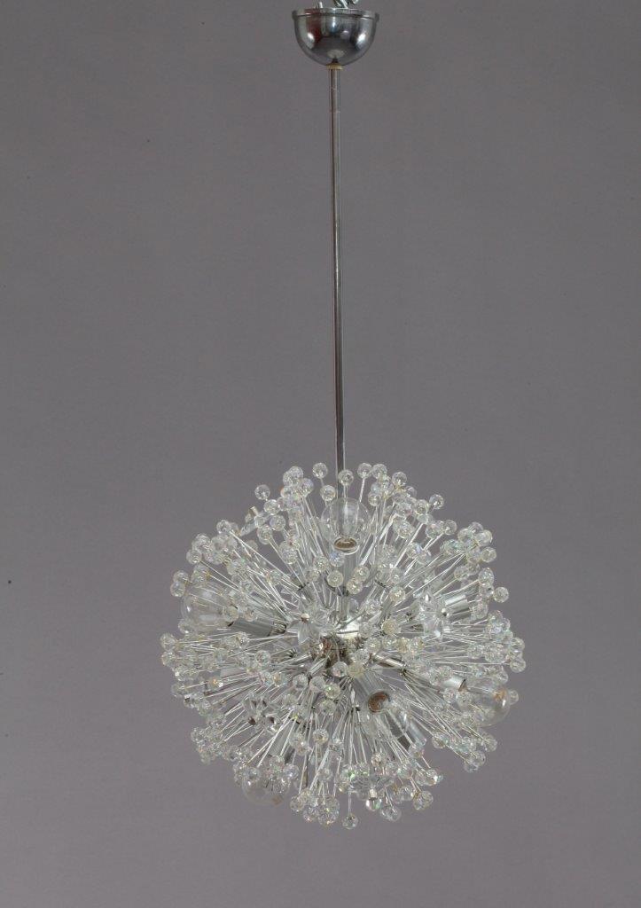 kleine snowball deckenlampe von emil stejnar f r rupert nikoll 1950 bei pamono kaufen. Black Bedroom Furniture Sets. Home Design Ideas