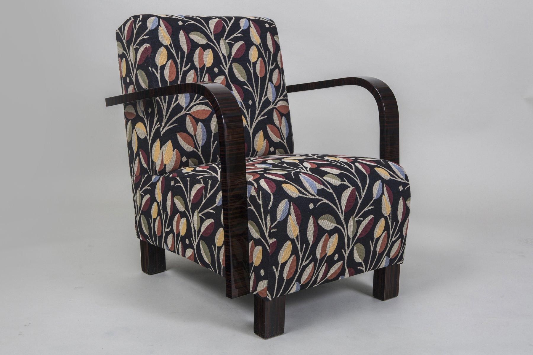 bunter vintage sessel bei pamono kaufen. Black Bedroom Furniture Sets. Home Design Ideas