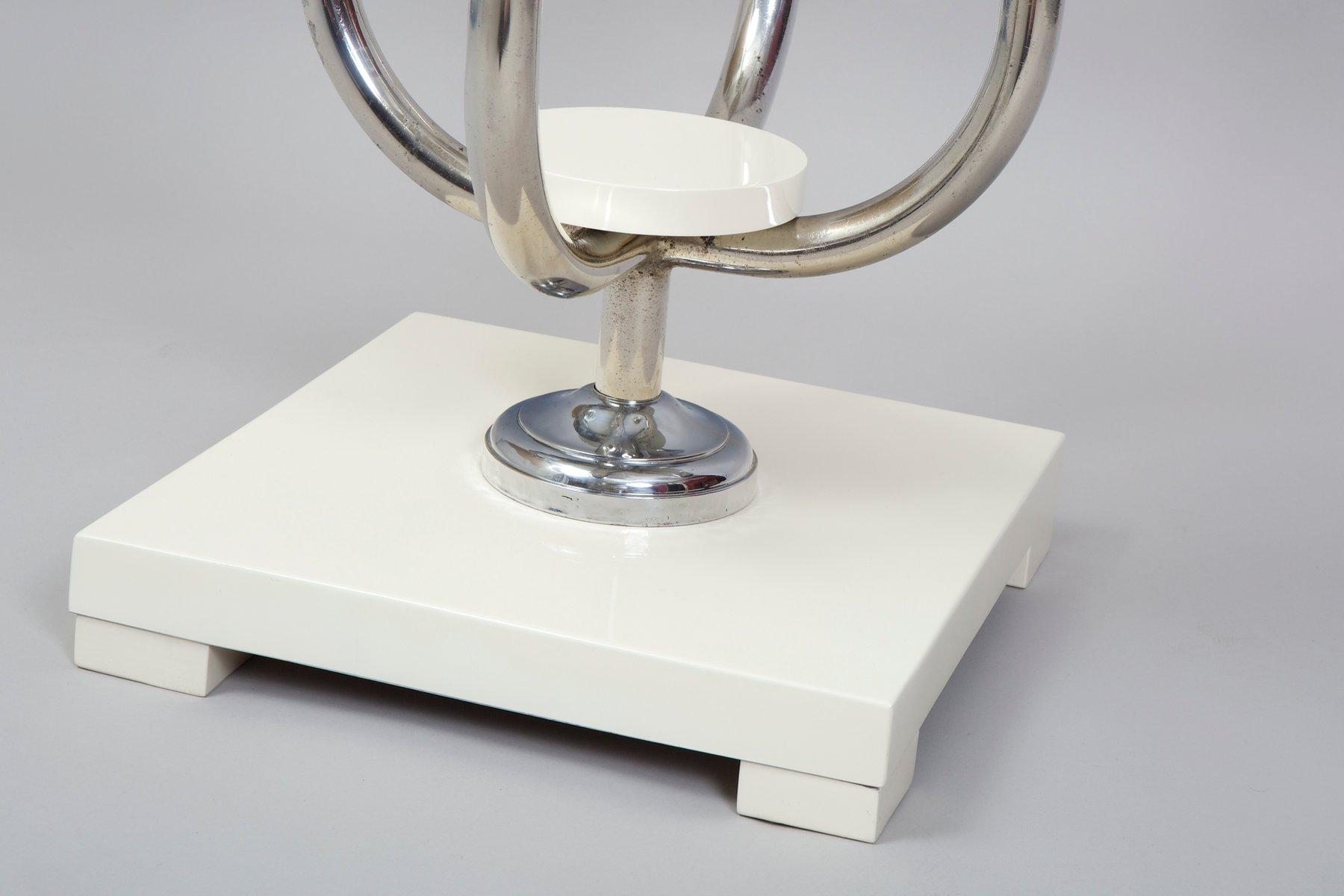 wei er vintage blumenst nder bei pamono kaufen. Black Bedroom Furniture Sets. Home Design Ideas