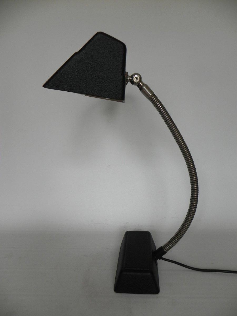 lampe de bureau art d co avec tube luminescent 1950s en vente sur pamono. Black Bedroom Furniture Sets. Home Design Ideas