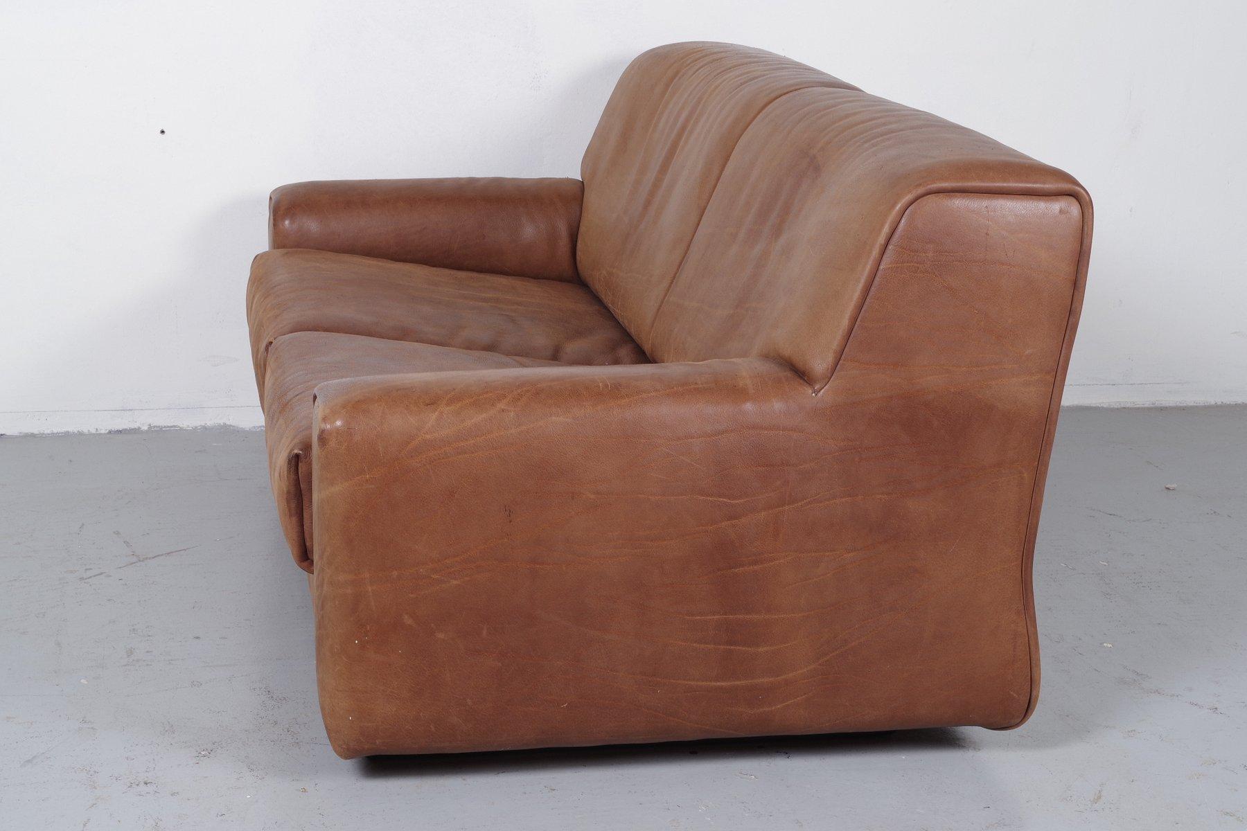 ds42 zwei sitzer sofa von de sede 1985 bei pamono kaufen. Black Bedroom Furniture Sets. Home Design Ideas