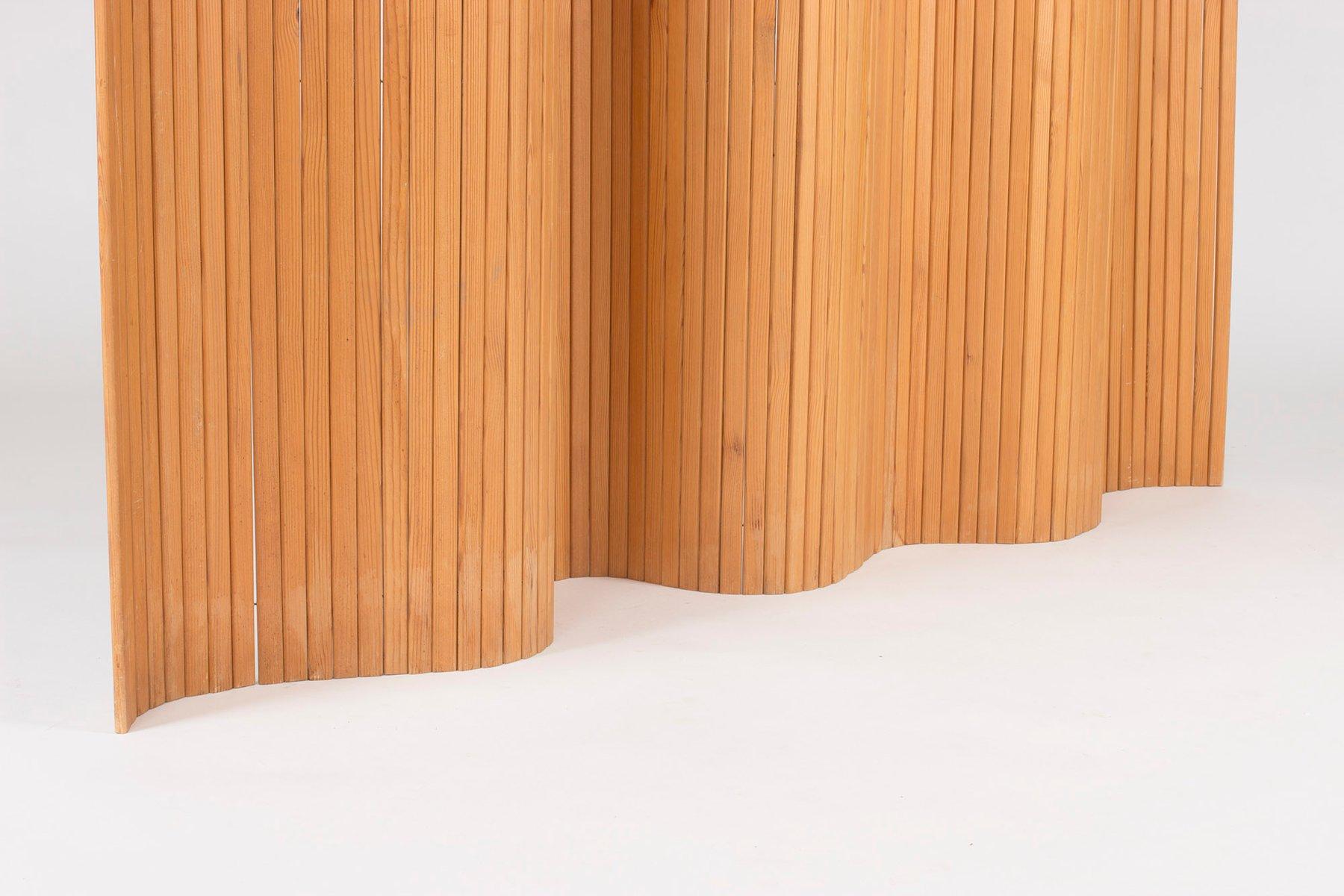 Raumteiler aus Kiefernholz von Alvar Aalto, 1940er bei Pamono kaufen