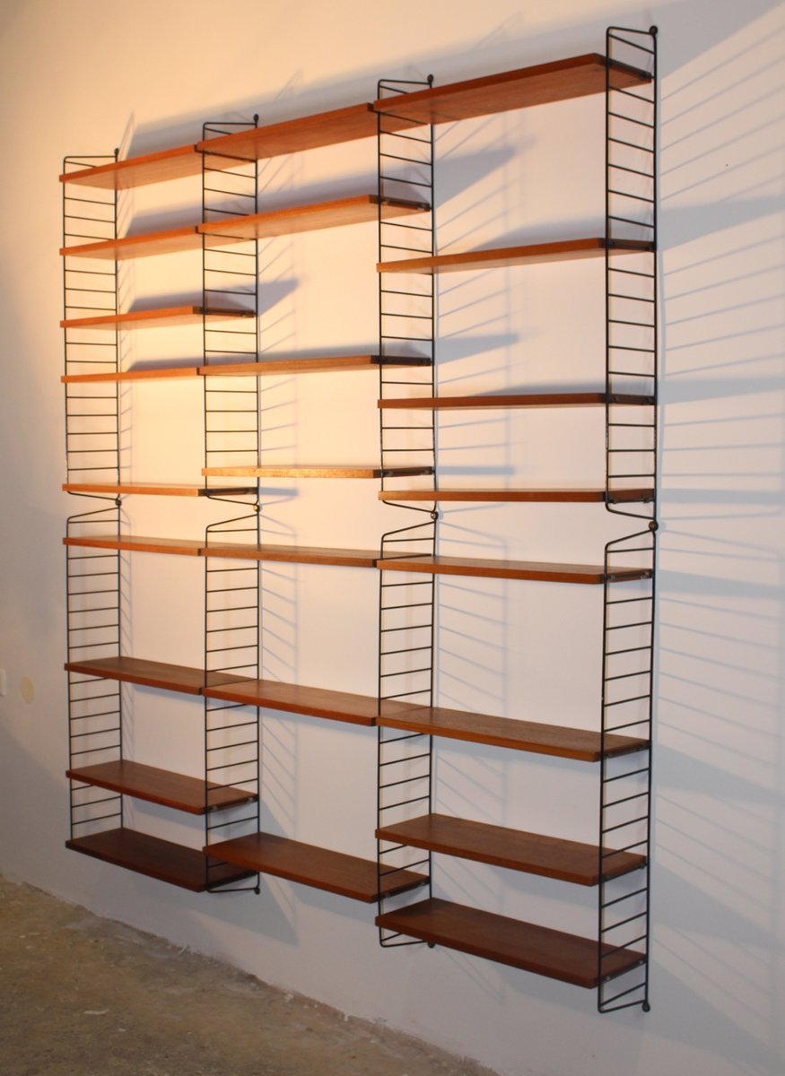 String Regal ladder shelf by nisse strinning for string 1950s for sale at pamono