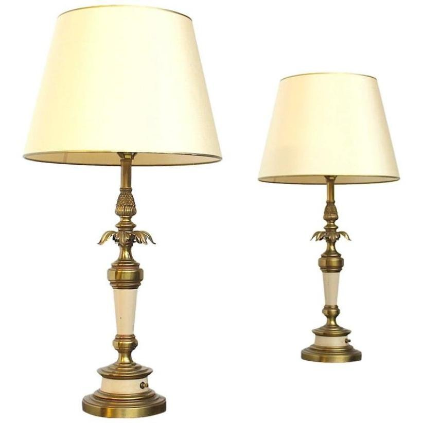 Wonderful American Hollywood Regency Table Lamps From Stiffel, 1960s, Set Of 2
