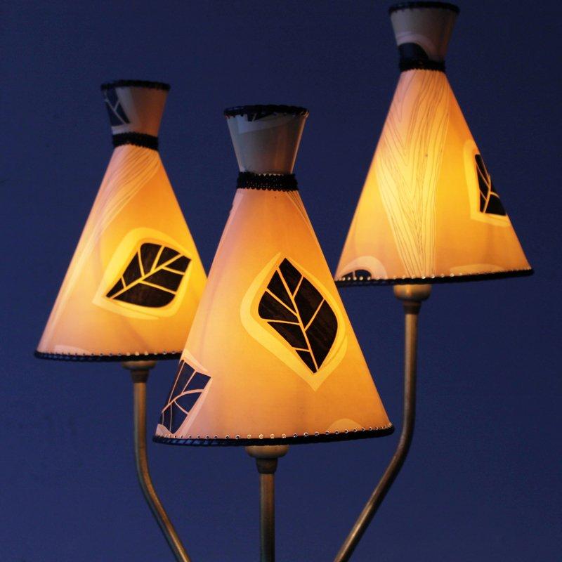 schwedische vintage messing stehlampe bei pamono kaufen. Black Bedroom Furniture Sets. Home Design Ideas