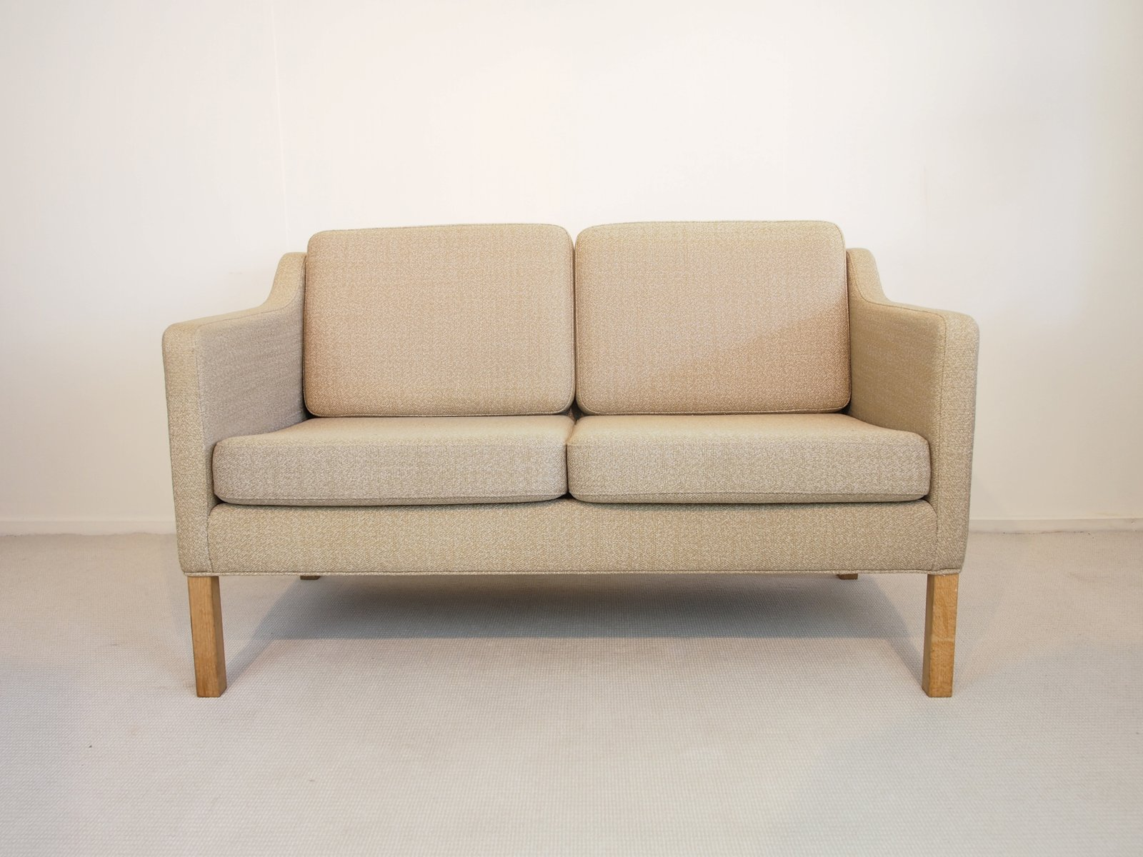 Vintage Model 2322 Two Seater Sofa By Børge Mogensen For Frederica