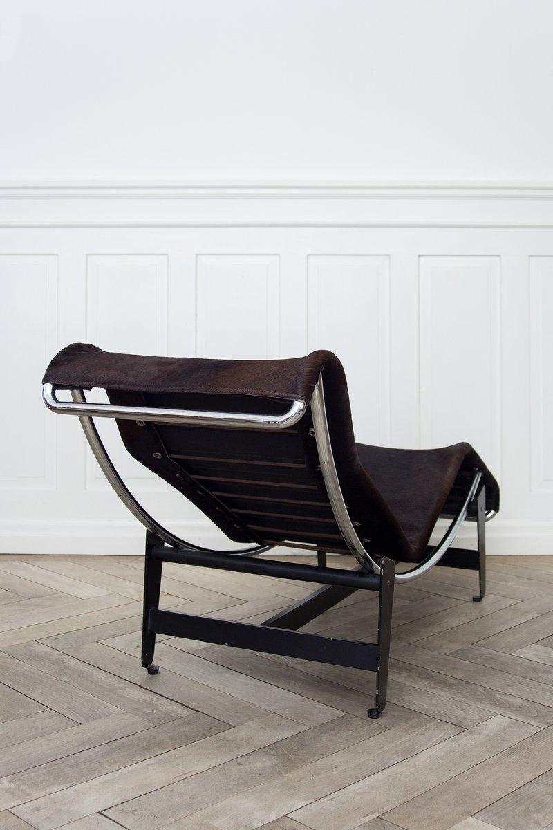 lc4 liege von le corbusier pierre jeanneret charlotte perriand f r wohnbedarf 1950er bei. Black Bedroom Furniture Sets. Home Design Ideas