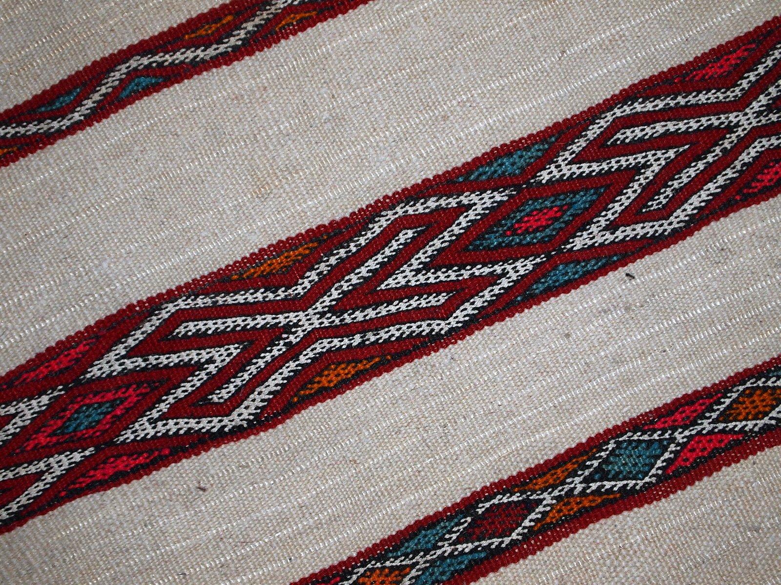 handgemachter marokkanischer vintage kilim teppich 1950er bei pamono kaufen. Black Bedroom Furniture Sets. Home Design Ideas