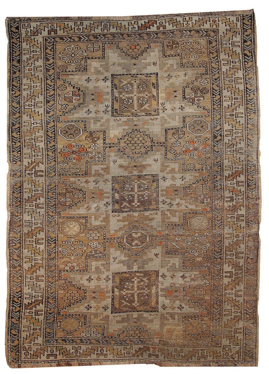 Russische Teppiche antiker handgemachter russischer shirvan teppich 1900er bei pamono