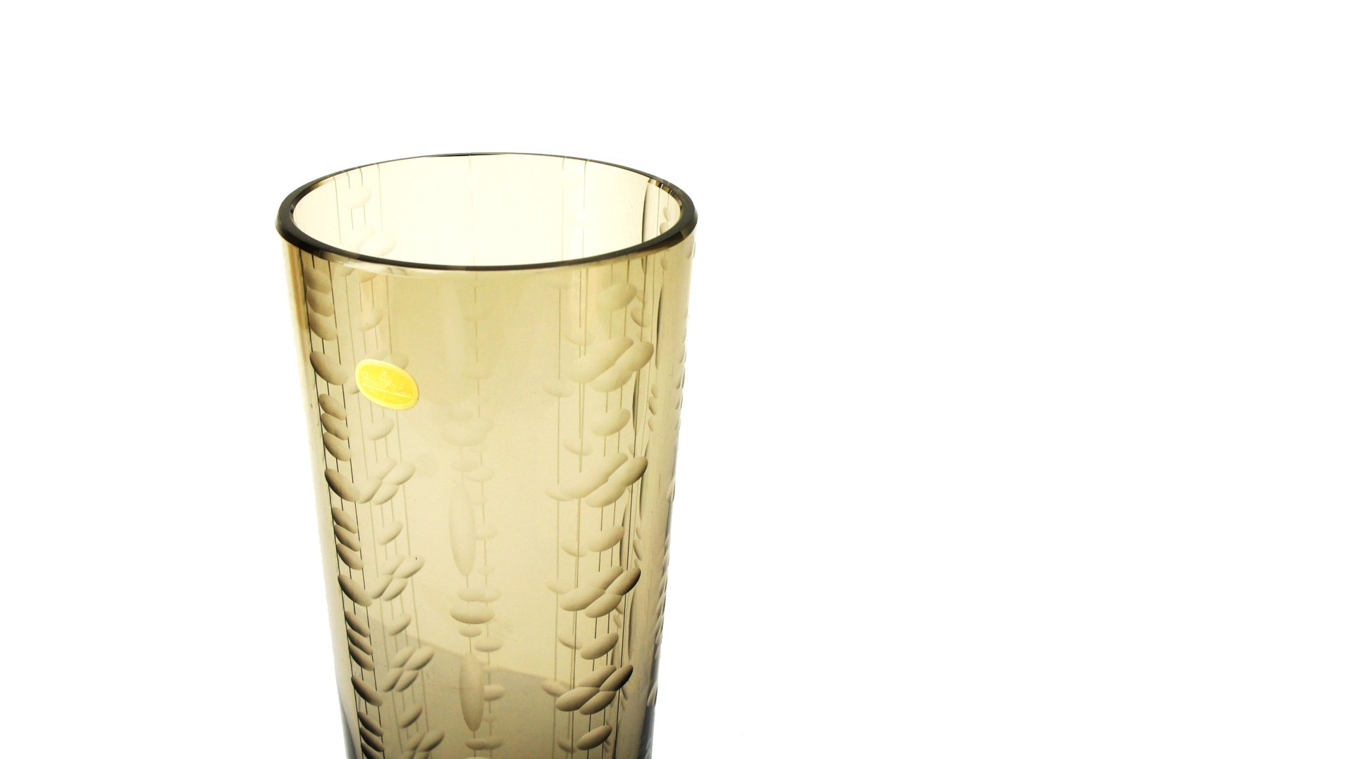 Vintage smoked glass vase from rosenthal for sale at pamono vintage smoked glass vase from rosenthal reviewsmspy