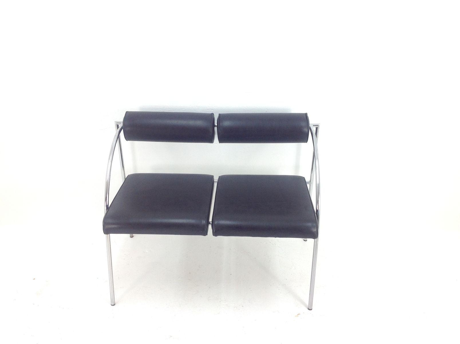 canap deux places par rodney kingsman pour bieffeplast. Black Bedroom Furniture Sets. Home Design Ideas