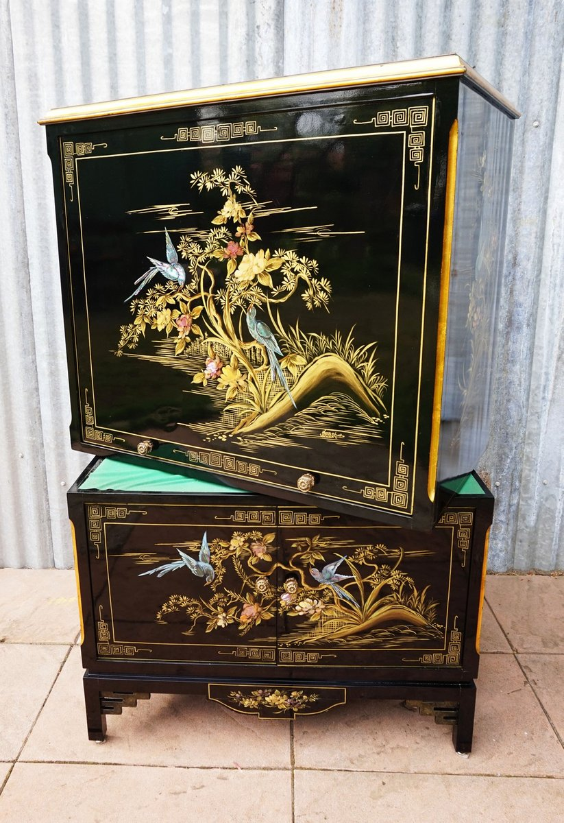 Painted China Cabinets Vintage