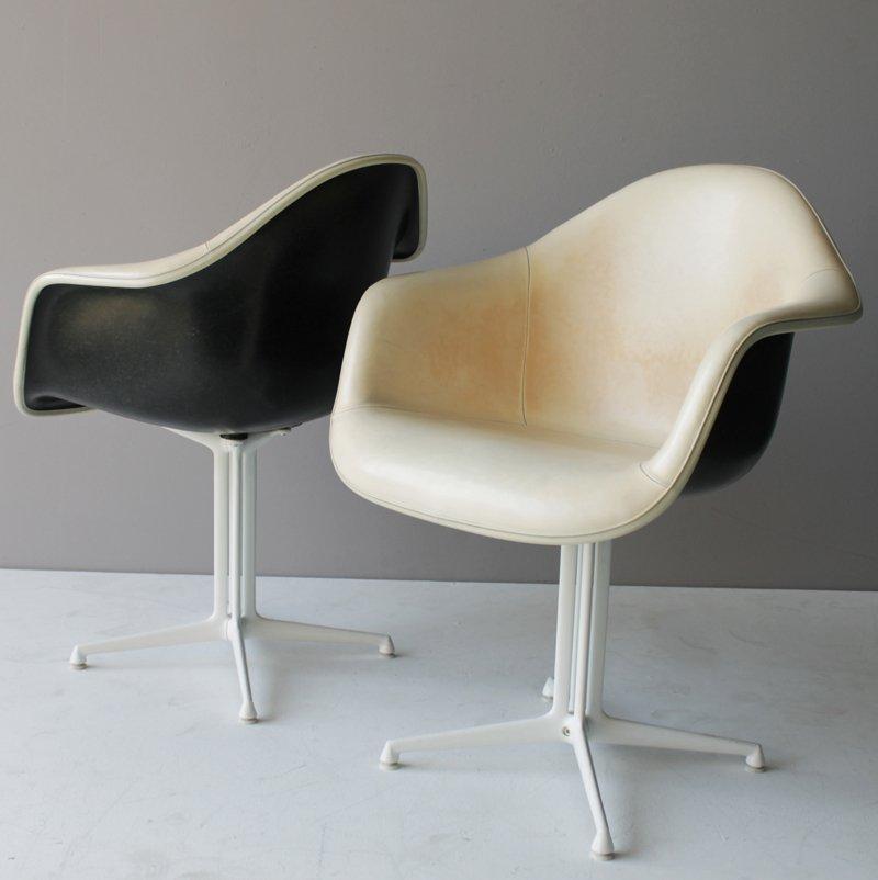 Vier kunststoff dal sessel von eames f r miller bei pamono for Sessel kunststoff design