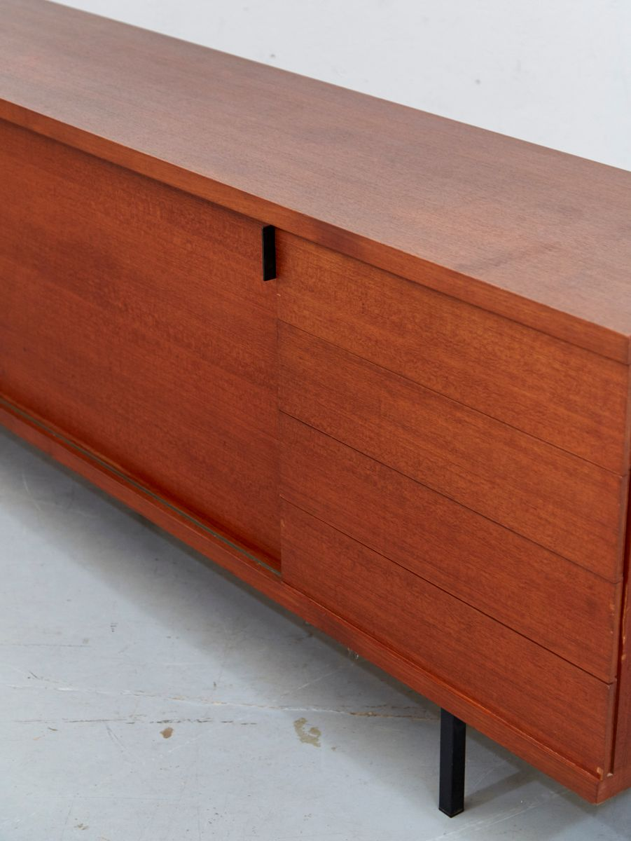 Mid century teak sideboard by hans k necke for tecta for for Sideboard qr