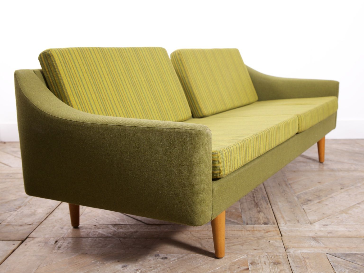 Mid Century Green Sofa From Dux For Sale At Pamono