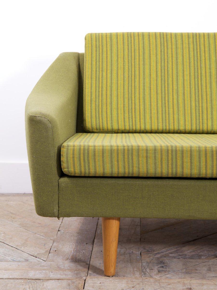 gr nes mid century sofa von dux bei pamono kaufen. Black Bedroom Furniture Sets. Home Design Ideas