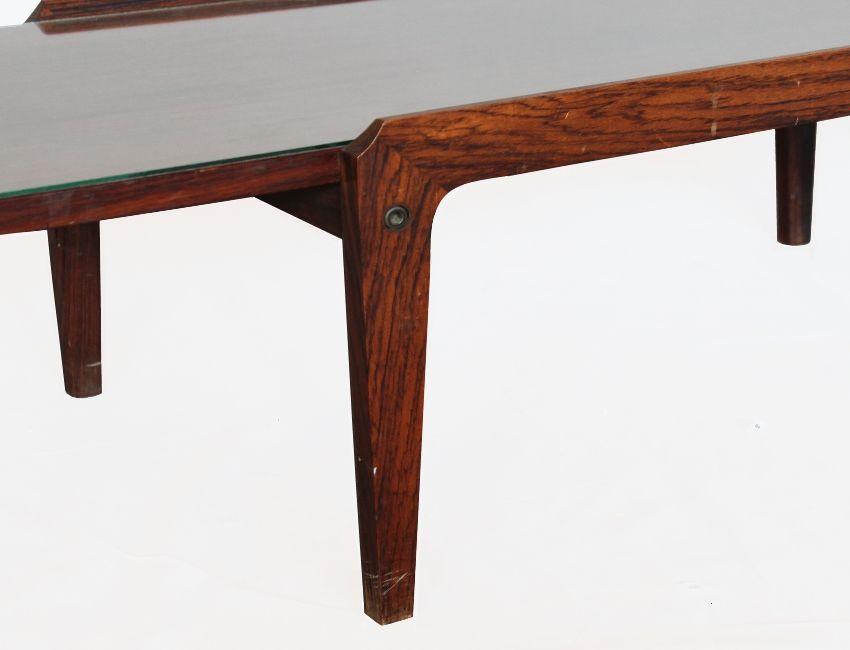 table basse mid century avec plateau en verre italie 1950s en vente sur pamono. Black Bedroom Furniture Sets. Home Design Ideas