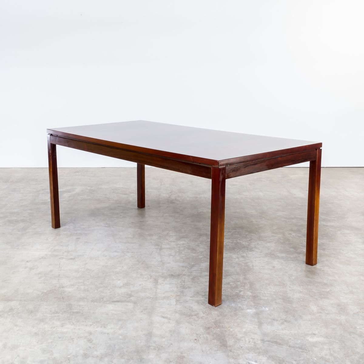 Extendable Rosewood Dining Table By Oswald Vermaercke For V Form, 1970s
