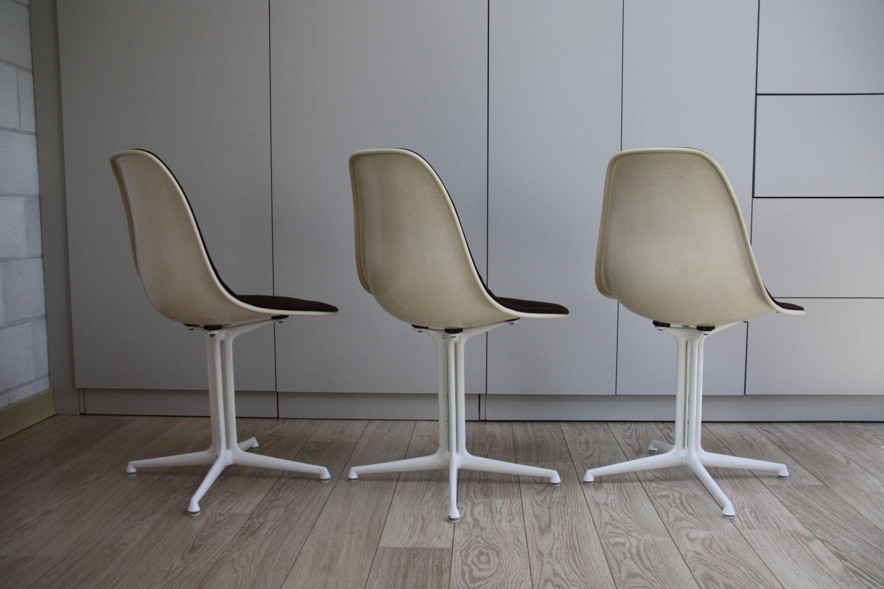 chaises la fonda par charles et ray eames pour herman miller 1961 set de 3 en vente sur pamono. Black Bedroom Furniture Sets. Home Design Ideas