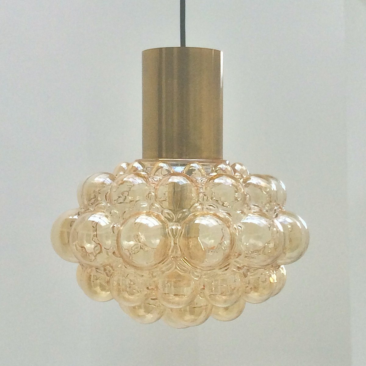 Vintage bubble light with brass by helena tynell for limburg for vintage bubble light with brass by helena tynell for limburg arubaitofo Image collections