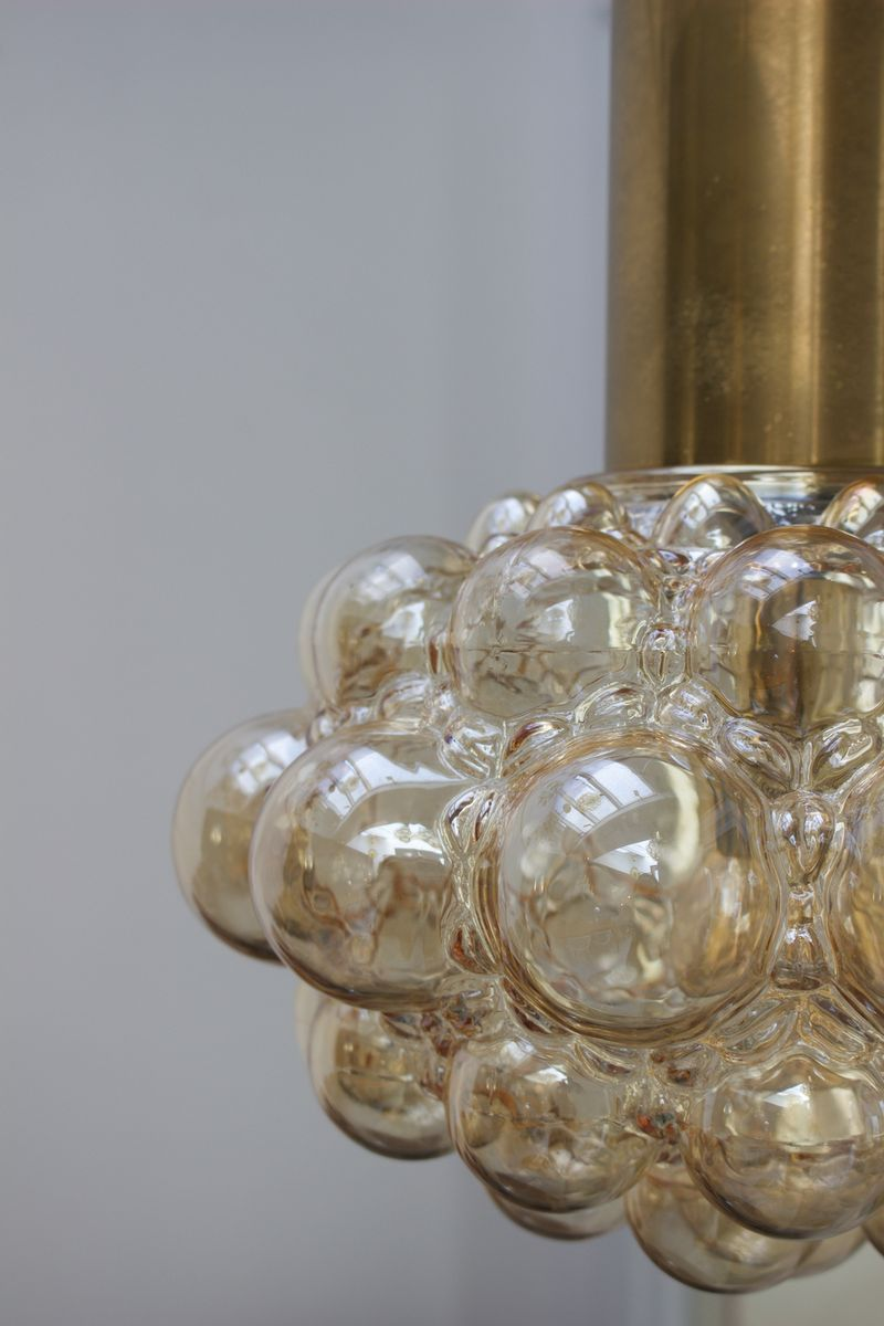 Vintage bubble light with brass by helena tynell for limburg for price 85100 regular price 147400 arubaitofo Image collections