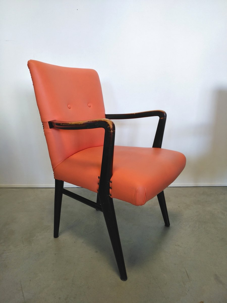 fauteuil en acajou et ska italie 1940s en vente sur pamono. Black Bedroom Furniture Sets. Home Design Ideas