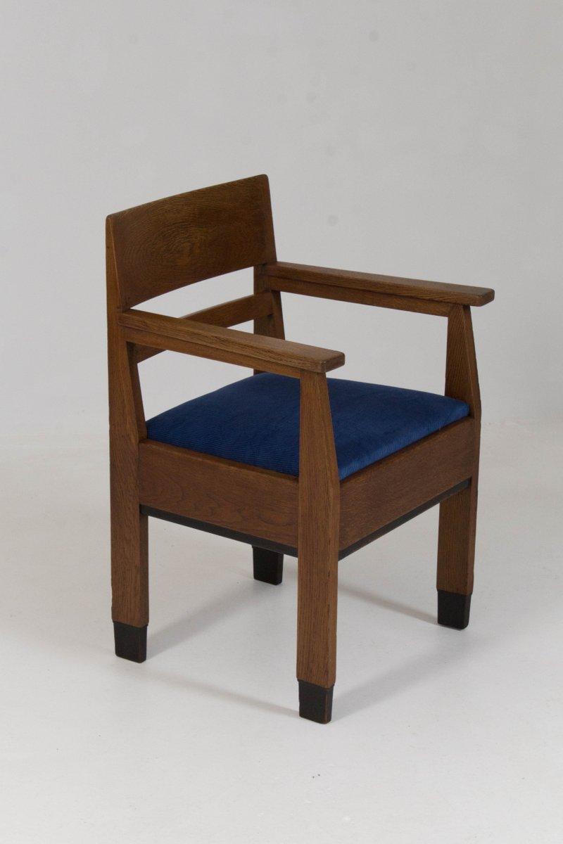 art deco haager schule st hle von h fels f r l o v oosterbeek 1920er 6er set bei pamono kaufen. Black Bedroom Furniture Sets. Home Design Ideas