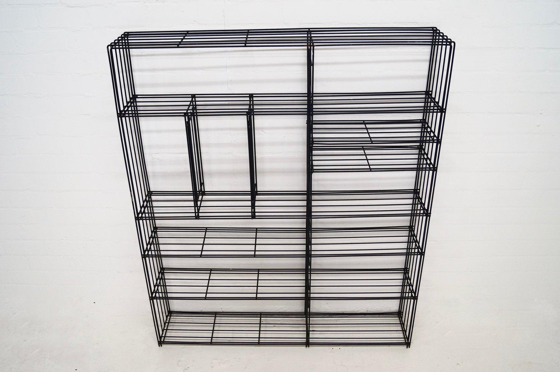 niederl ndischer raumtrenner regal von tjerk reijenga f r pilastro 1950er bei pamono kaufen. Black Bedroom Furniture Sets. Home Design Ideas