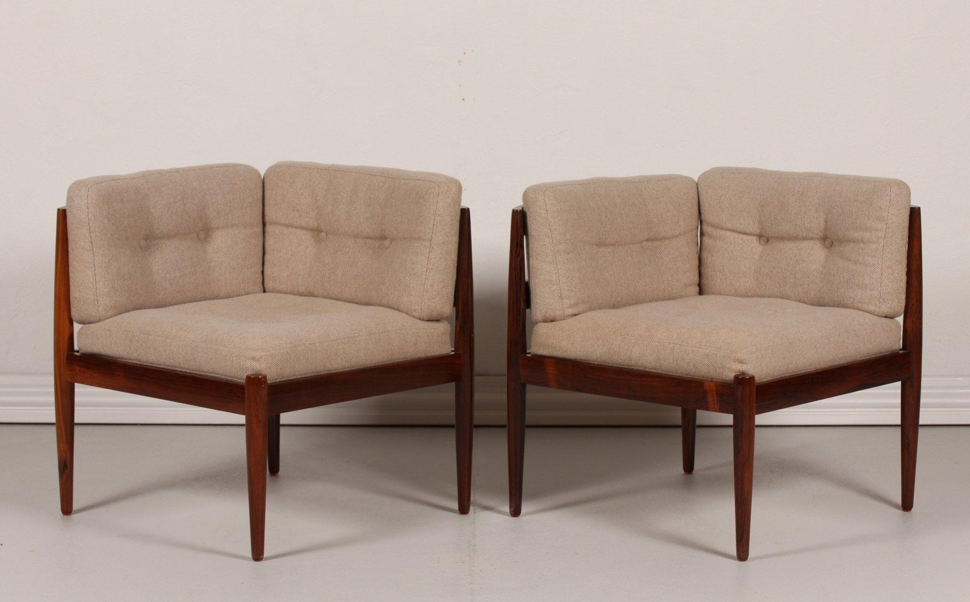 Modul Sofa modul line sofa in rosewood by kristiansen for magnus olesen