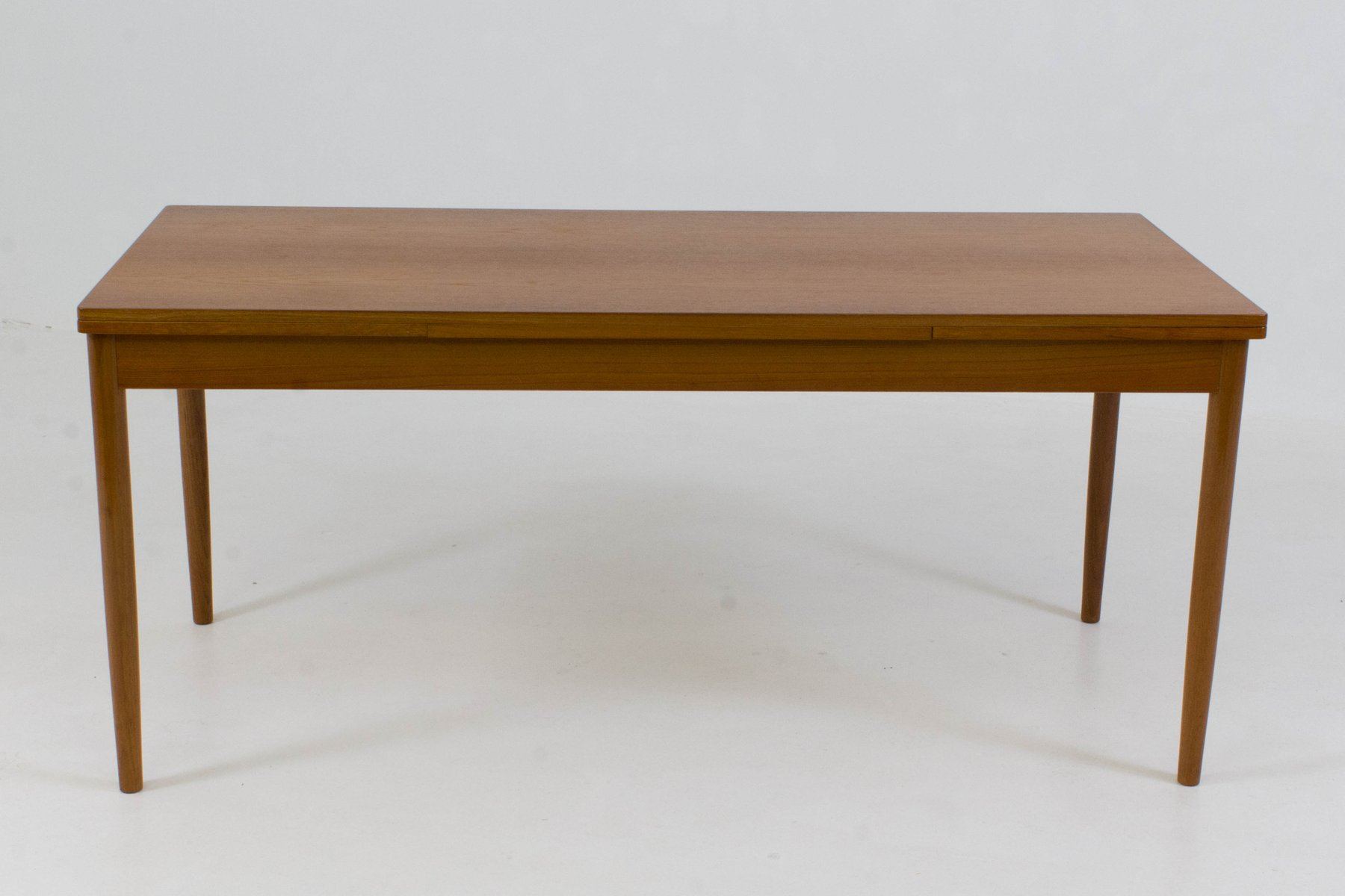 grande table de salle manger extensible danemark 1960s en vente sur pamono. Black Bedroom Furniture Sets. Home Design Ideas