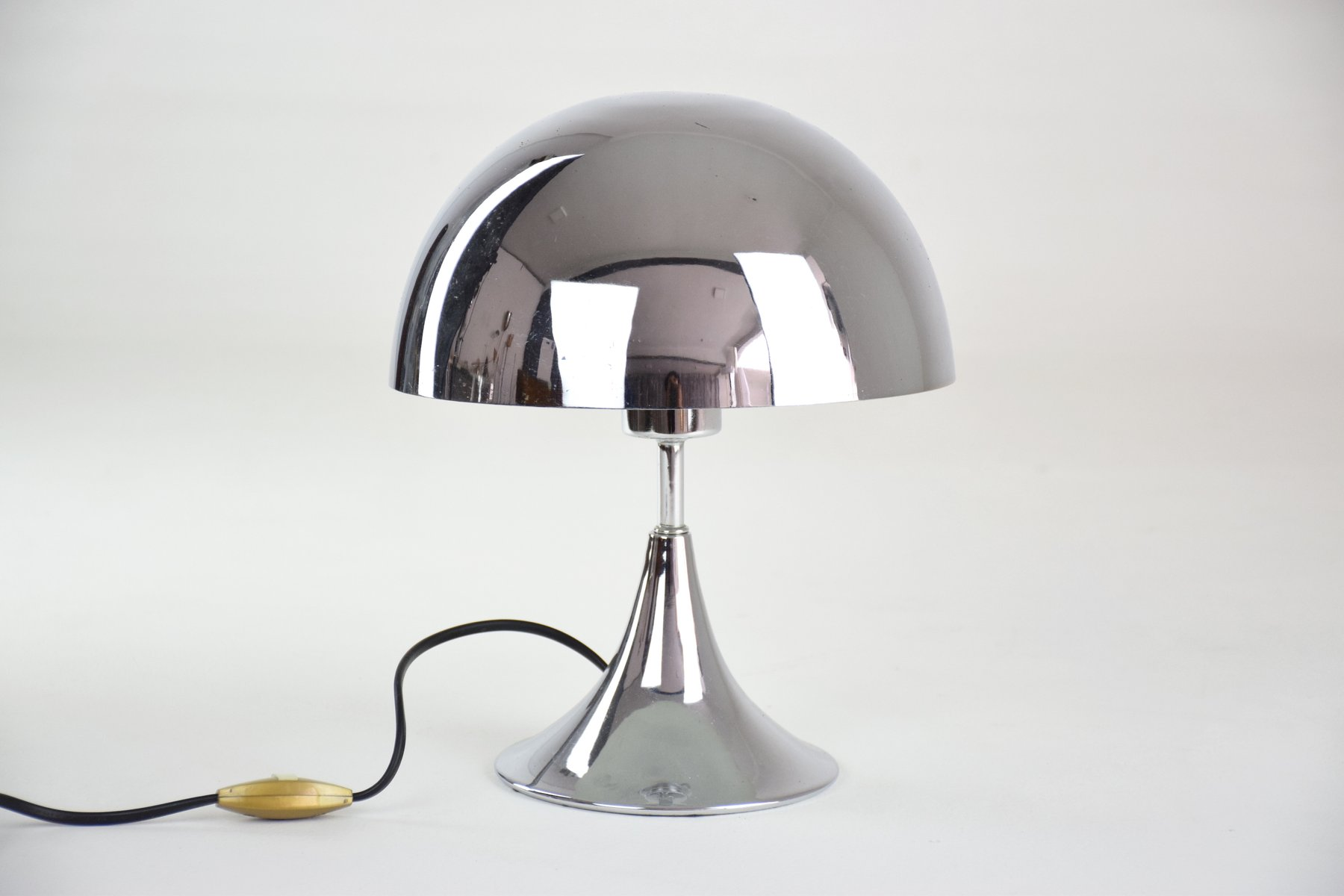 Vintage French Chrome Lamp For Sale At Pamono