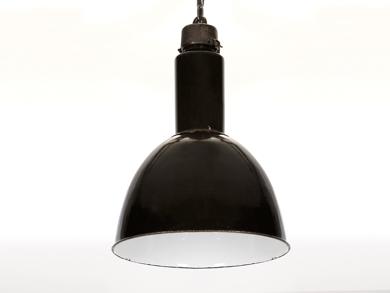 Industrial ceiling lights 1960s set of 2 for sale at pamono price per set mozeypictures Gallery