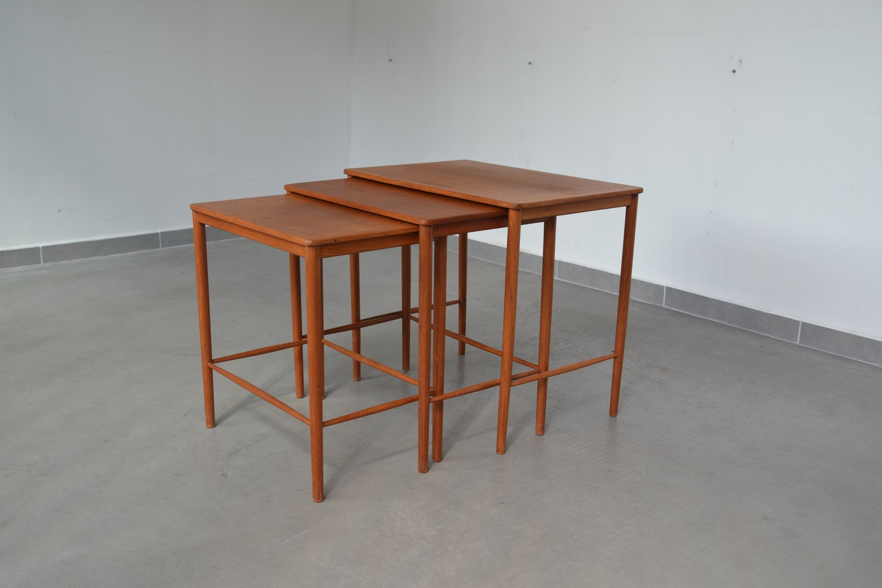 Nesting Tables By Grete Jalk For P. Jeppesens Møbelfabrik, 1960s Photo