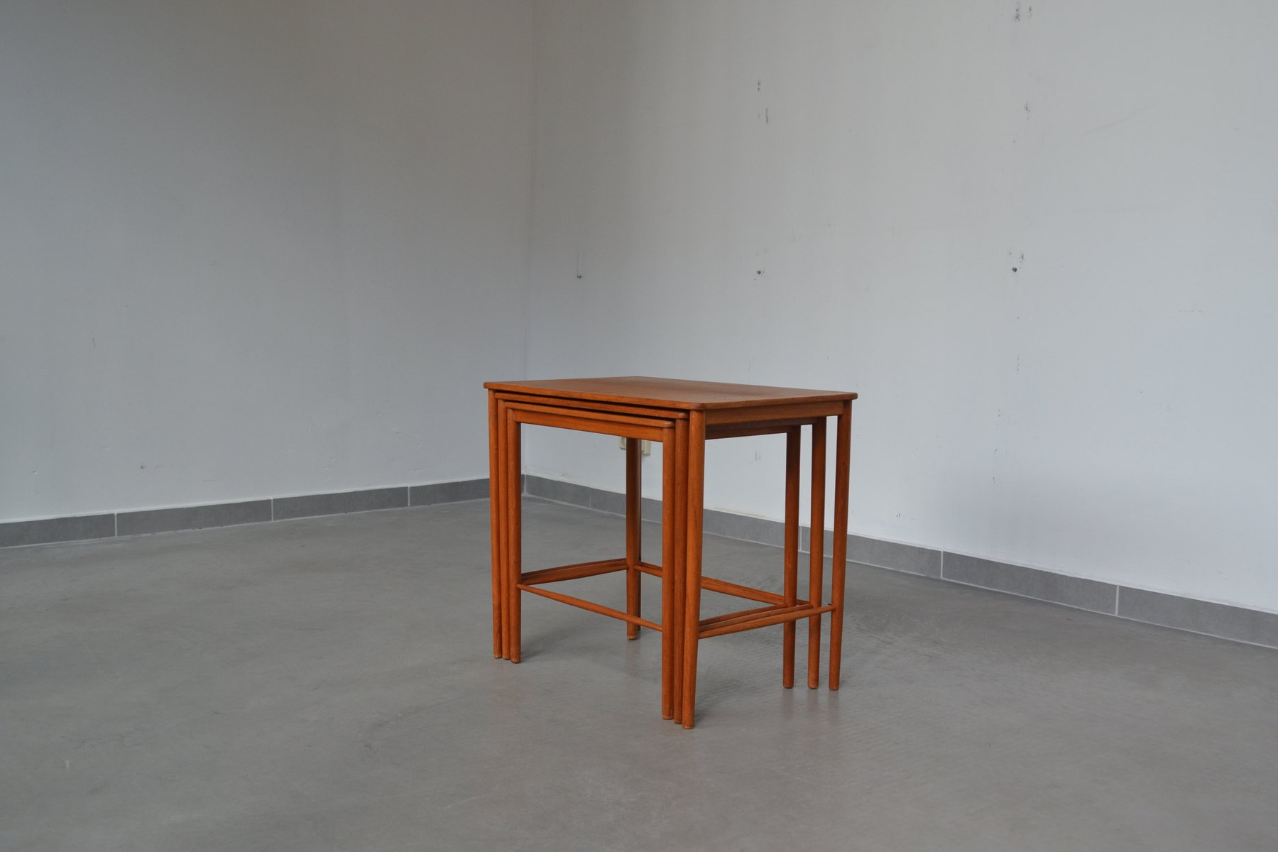 Nesting Tables By Grete Jalk For P. Jeppesens Møbelfabrik, 1960s For Sale  At Pamono