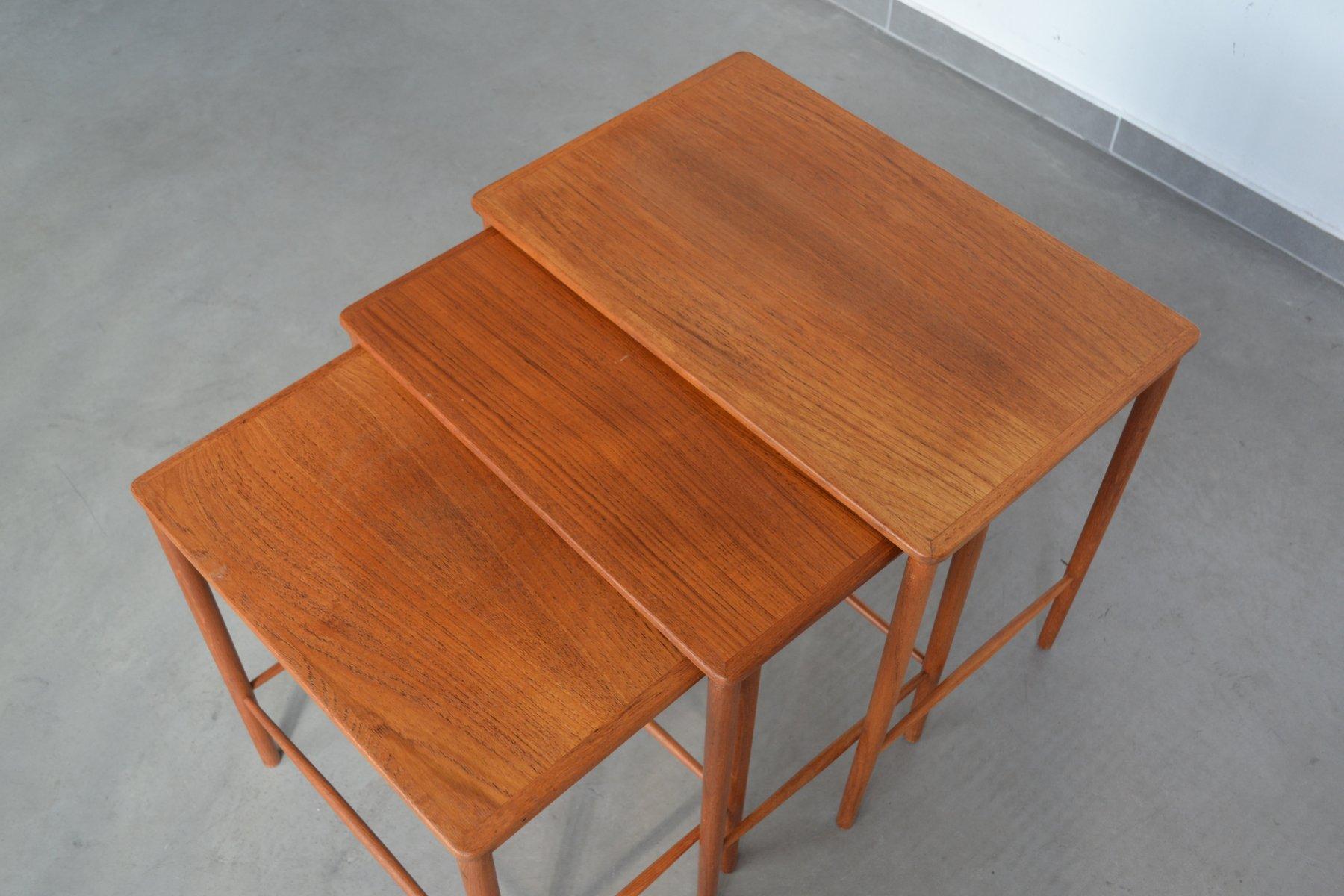 Nesting Tables By Grete Jalk For P. Jeppesens Møbelfabrik, 1960s 3. Previous
