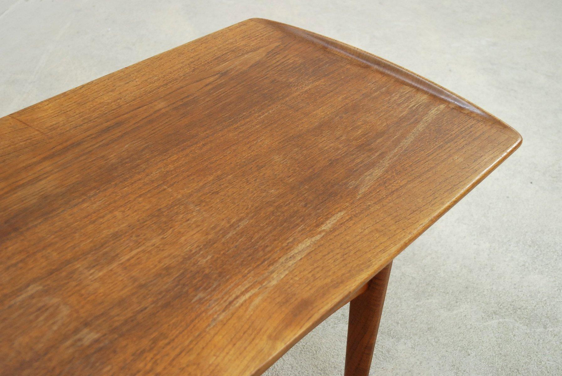 Danish FD503 Teak Coffee Table by Tove & Edvard Kindt-Larsen for ...